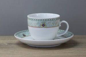 Seltmann Weiden Toscana Kaffeetasse Tasse mit Untertasse Unterteller Ø 14,5 cm