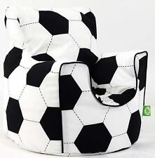 Cotton Football Soccer Bean Bag Armchair Children's Chair Kids Boys Seat Lounger