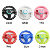 Racing Game Steering Wheel Remote Controller compatible with Nintendo Wii Wii U