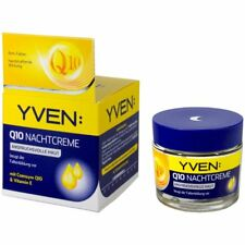 YVEN Q10 Anti-Wrinkle Night Care Cream 50ml New from Germany