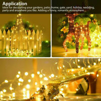 10M 100 LED Christmas Tree Fairy String Party Lights Lamp Xmas Waterproof 8 mode