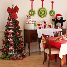 Santa Claus Doll Climbing on Rope Ladder Xmas Tree Hanging Home Decor 4 Man