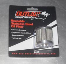 Outlaw Racing Honda XR200 XR250 XR350 XR400 XR500 XR600 XR650 S/S Ölfilter
