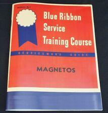 IH Farmall Magneto Service Manual Blue Ribbon Service Manual H4 A B C H M