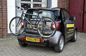 Rear Bicycle Rack Carrier Smart Fortwo Cabrio 453 Paulchen Comfort Class