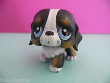 petshop chien saint bernard noir / black dog N° 145