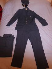 costume, uniforme, casquette de facteur ancien PTT