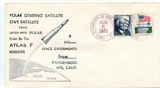 1971 Polar Orbiting Satellite OV1 Twins Atlas F Booster Vandenberg AFB USA SAT
