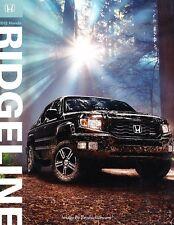 2012 Honda Ridgeline Truck 12-page Original Car Sales Brochure Catalog