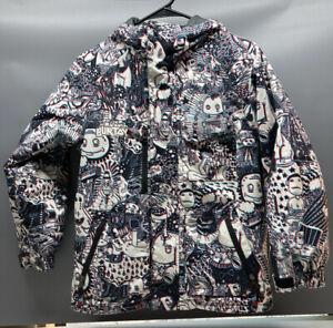 Rare 3-D Burton Jacket All Access Dryride LG Youth 10/12 EU 134/147 Snowboard #6