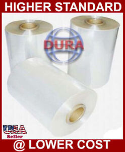 """12"""" 2625 ft 100 Gauge Central Fold Polyolefin Shrink Film Clear Wrap Wrapping"""
