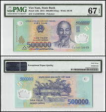 Vietnam (Viet Nam) 500,000 (500000) Dong, 2015, P-124k, UNC, HCM, PMG 67 EPQ