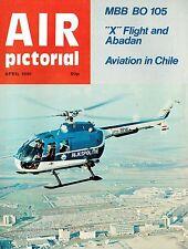 AIR PICTORIAL APR 81: MBB BO 105 HELO PROFILE/ DUTCH AIR POLICE/ X FLIGHT-ABADAN