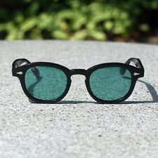 Vintage Johnny Depp sunglasses mens glasses purple blue green red lens UV400