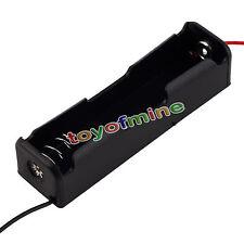 1PCS Plastic Battery Case Holder Storage Box for 18650 Batteries 3.7V Black