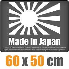 Made in Japan / Flagge  chf0327 weiß 60 x 51 cm Heckscheibenaufkleber Scheibe