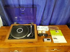 Vintage Pioneer Pl-A35D Automatic Turntable With Remote New Stylus Super Nice