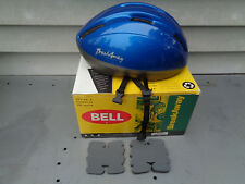 BELL BREAK AWAY METALLIC BLUE HELMET W/BOX SIZE L