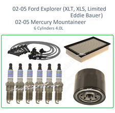 Tune Up For 02-05 Ford Explorer Mercury Mountaineer 4.0v6: SparkPlug WireSet Air