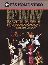 Broadway: The American Musical (DVD, 2004,3-Disc Set) brand new sealed Free ship