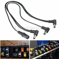3 Way 9V Guitar Effect Pedal Daisy Chain Power Supply Splitter Adapter Cable New