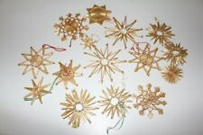 Beautiful Straw Stars Christmas Decorations Tree Ornament