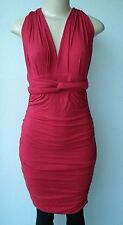 TART Collections Convertible Hampton Dress NEW X-SMALL RED MADE IN USA