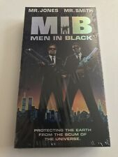 Men In Black Promotional Vhs Factory Sealed New 1997 Mib Wil Smith