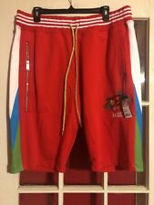 Akoo Ripple Shorts Racing Red $89 Size Xl  $89 New