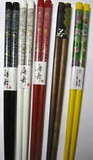 """5 DOLLAR DEAL! 5 Pair 9"""" chopsticks HAIR STICKS 5 different colors!"""