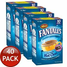 ALLEN'S FANTALES HOT CHOCOLATE DRINK CARAMELLY TREAT DELICIOUS SACHET 40 PACK