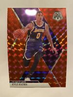 2019-20 Panini Mosaic Kyle Kuzma Red Wave Prizms SP #28 - ** MINT! RARE!! **
