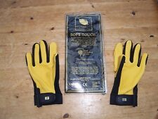 Royal Horticultural Society 'Soft Touch' ladies leather gardening gloves S/M