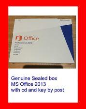 Paquete sellado original Microsoft Office Professional 2013 CD Key en caja por correo