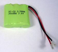 3.6V 300mAh Binatone 84H 85H bc102171 Sans Fil Téléphone Batterie rechargeable