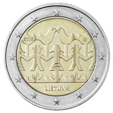 2 Euro Lithuania 2018 coin dedicated to the Song and Dance Celebration