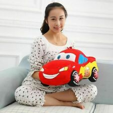 "Pixar Cars Lightning McQueen Cushion Pillow Soft Plush Toy Doll 14"" Gift"
