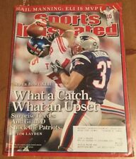 Sports Illustrated February 11, 2008 Super Bowl XLII Giants! Tyree Catch!