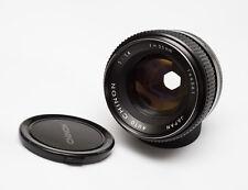 Auto Chinon 55mm f/1.4 Tomioka Planar prime lens m42 m4/3 NEX A7 adaptable
