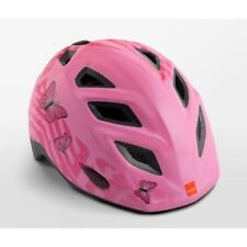 Childrens cycle helmet MET Elfo Pink Butterflies 46 - 53 cm