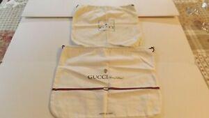 Gucci Dust Bags Lot (2),