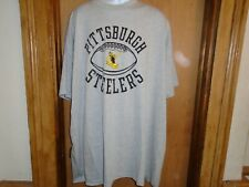 Pittsburgh Steelers Fanatics Men's Steely McBeam Gray T Shirt 4XL NWT