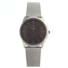 Calvin Klein Watch Minimal Man Woman Quartz 35 mm Grey Dial K3M22421