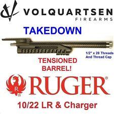 Volquartsen TAKEDOWN Stainless/Carbon Fiber Barrel, Rail, Forend Ruger 10-22 LR