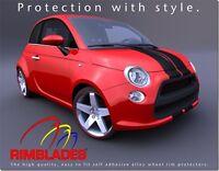 Black RIMBLADES FLEX ALLOY WHEEL RIM PROTECTORS/PROTECTION/GUARDS