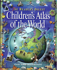 THE READER'S DIGEST CHILDREN'S ATLAS OF THE WORLD, Sale. Colin, Used; Very Good