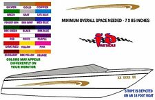 CURL DECAL GRAPHICS FOR BOAT SIDES - FREE SHIPPING