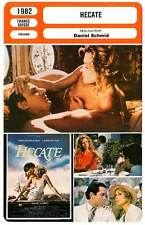 FICHE CINEMA : HECATE - Giraudeau,Hutton,Bouise,Schmid 1982