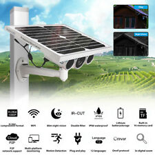 1080P HD Wireless Solar Camera Security Camera WiFi IP Camera Night Waterproof