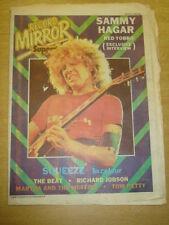 RECORD MIRROR 1980 MAR 15 SAMMY HAGAR SQUEEZE BEAT MARTHA MUFFINS TOM PETTY